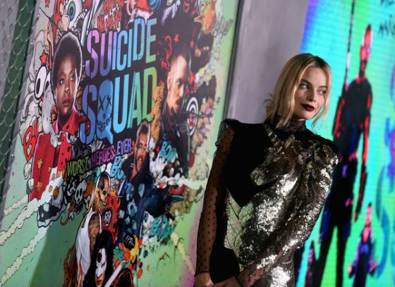 Margot Robbie on «The Suicide Squat» premier