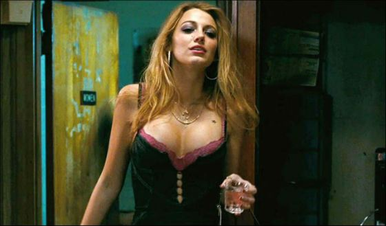 In The Town Blake Lively played a drug addict and a prostitute