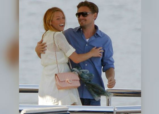 Blake Lively and Leonardo di Caprio had a short affair