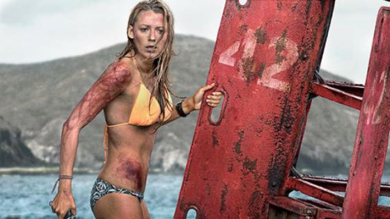 In 2016 Blake Lively appeared in the catastrophe movie The Shallows