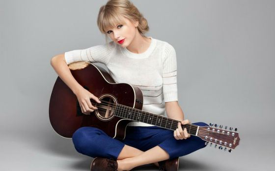 Country pop star Taylor Swift