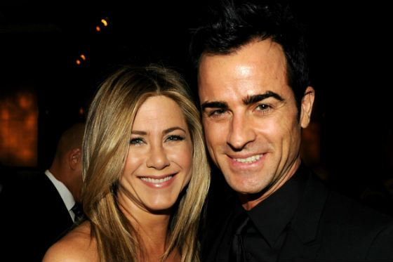 In the photo: Jennifer Aniston and Justin Theroux