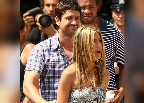 Jennifer Aniston and Gerard Butler dated for a short while