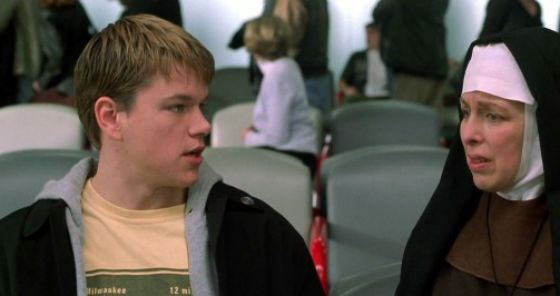 «Dogma»: Matt Damon in the role of the angel «Loki»