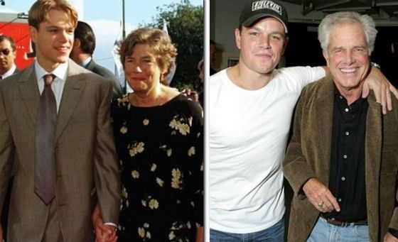 Matt Damon's parents: Nancy and Kent