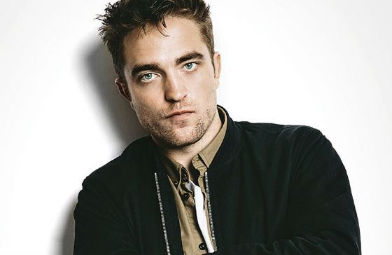 "A star of ""Twilight"" Robert Pattinson"