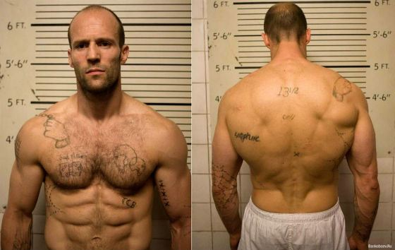 Jason Statham's figure is perfect for his character roles