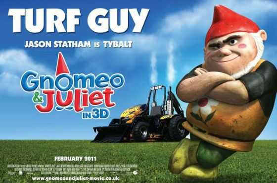 Statham voiced Tybalt in «Gnomeo and Juliet»