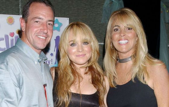 Lindsay Lohan's parents contributed to their daughter's career