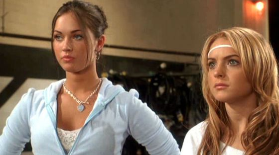 Lindsay Lohan and Megan Fox starred in one movie