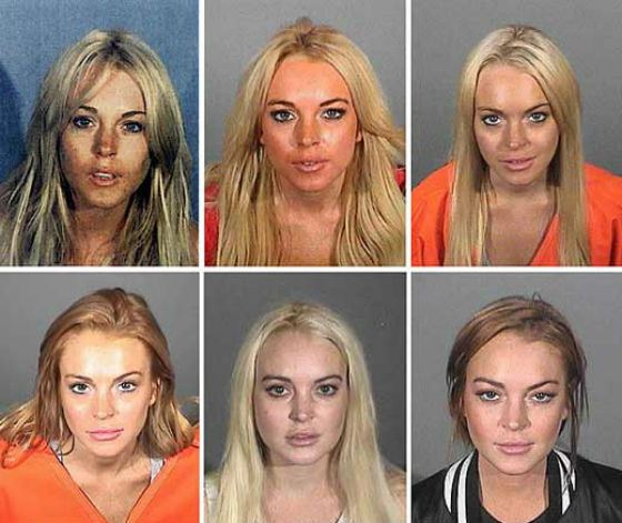 Lindsay Lohan and the police: the eternal relationship