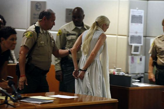 Lindsay Lohan was in prison for two hours