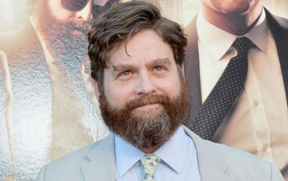 Zach Galifianakis Is the Most Famous Hollywood Bearded Man