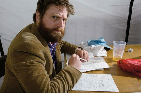 Zach Galifianakis: the Comedian at Work