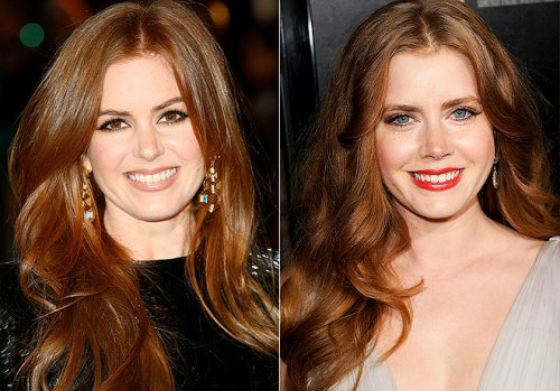 Isla Fisher and Amy Adams look unbelievable alike